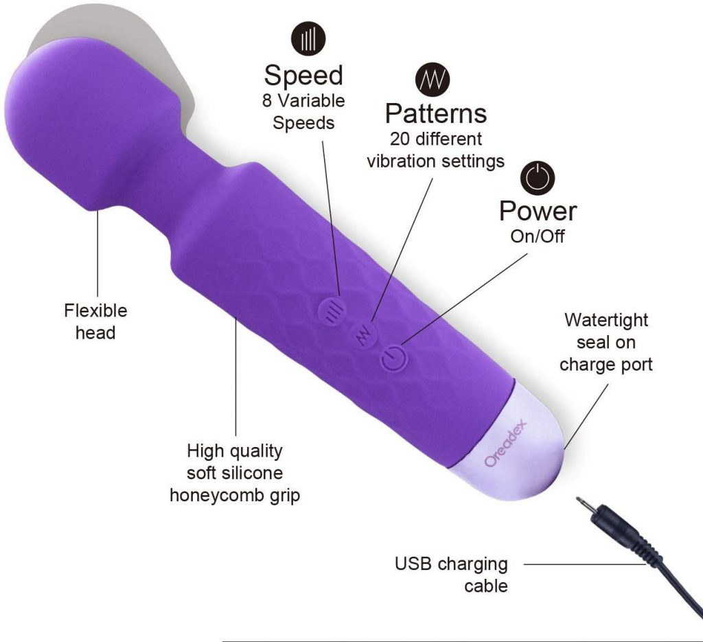 Oreadex Powerful Handheld Wand Massager Review
