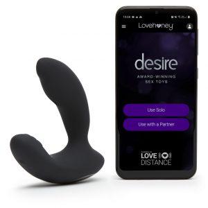 desire luxury app based Desire prostate vibrator