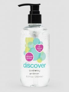 Lovehoney Discover Water-Based Anal Lubricant 8.5 fl oz